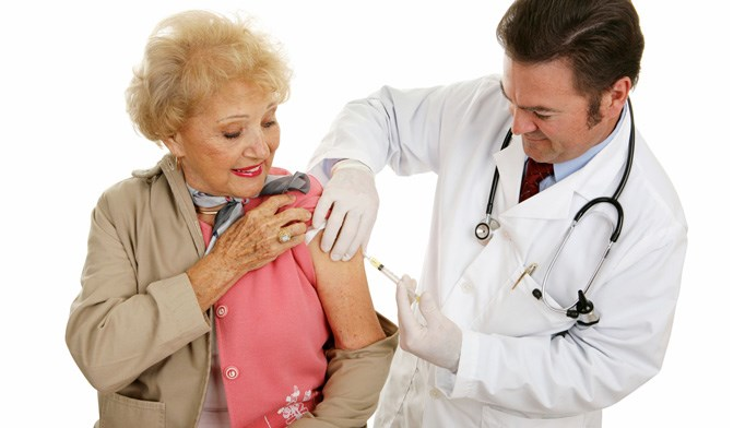 High-dose flu shot better for geriatrics