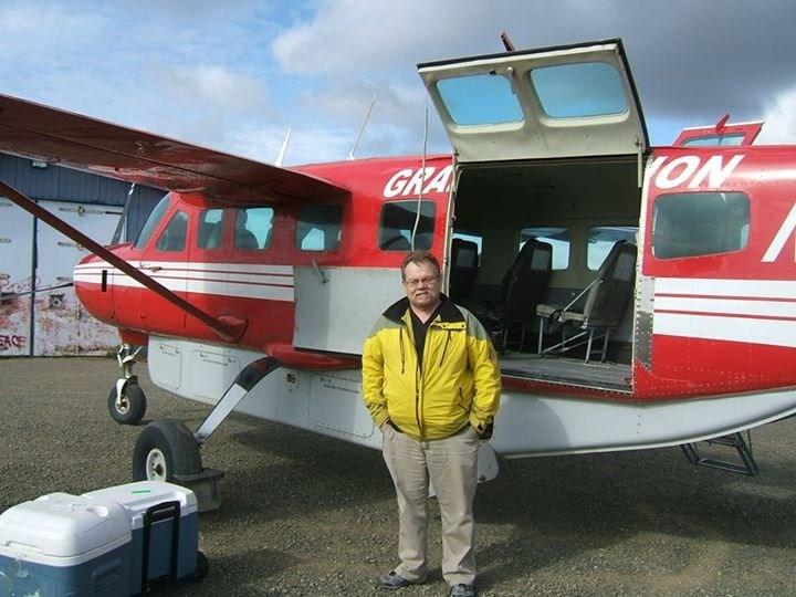 Robert Finlay, PA-C, AD arrives in Alaska