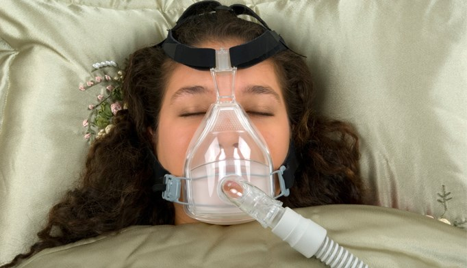 A patient initiates CPAP therapy
