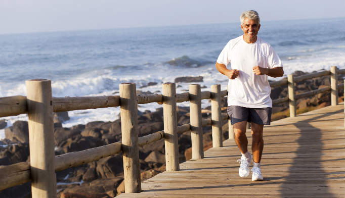 Jogging effective for combating physical decline in seniors