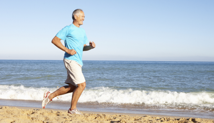 Running 15 miles per week may reduce risk of dying from Alzheimer disease.