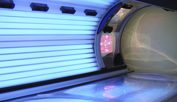 Indoor tanning may overexpose a patient to UV radition