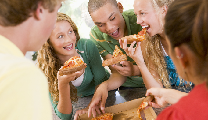 Are kids and teens eating too much pizza?