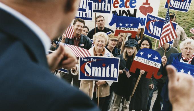 Does political affiliation affect life span?