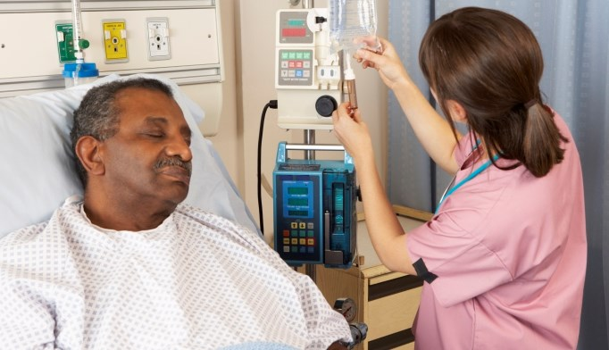 Almost half of acute stroke patients are dehydrated upon admission.