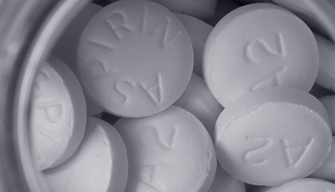 Nearly 93.6% of regular low-dose aspirin users with a history of CVD said they take it for heart attack prevention