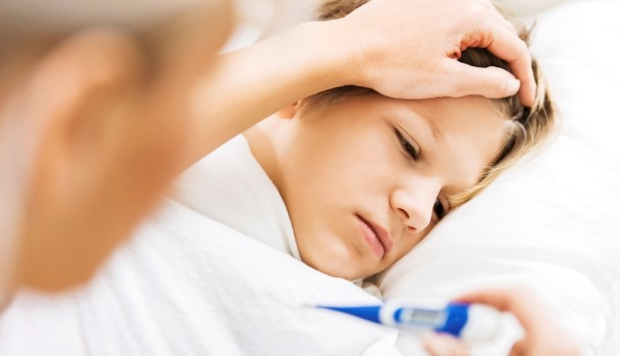 A child with a fever and fatigue eventually was diagnosed with MSSA.