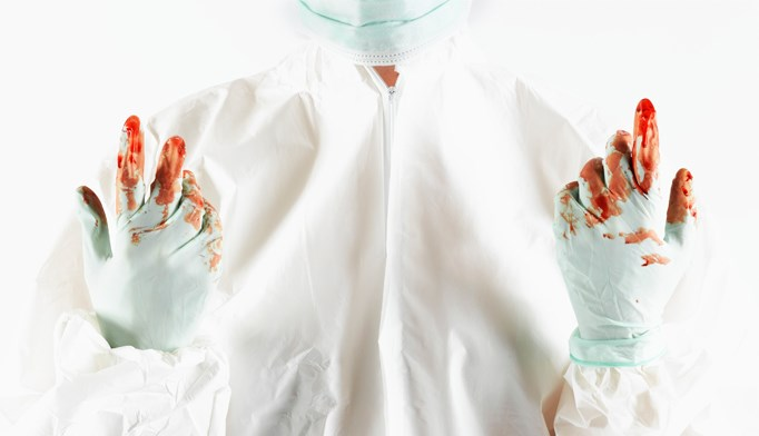 Few nurses compliant with bloodborne pathogen precautions