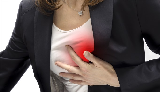 Women and men experience different symptoms, risks, and outcomes of myocardial infarction.