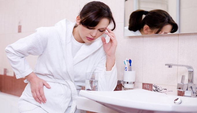 Nausea and vomiting were common in early pregnancy and are associated with a lower risk of pregnancy loss.