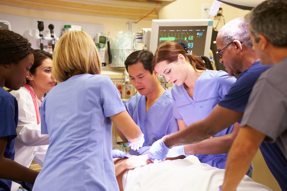 paramedics and nurses