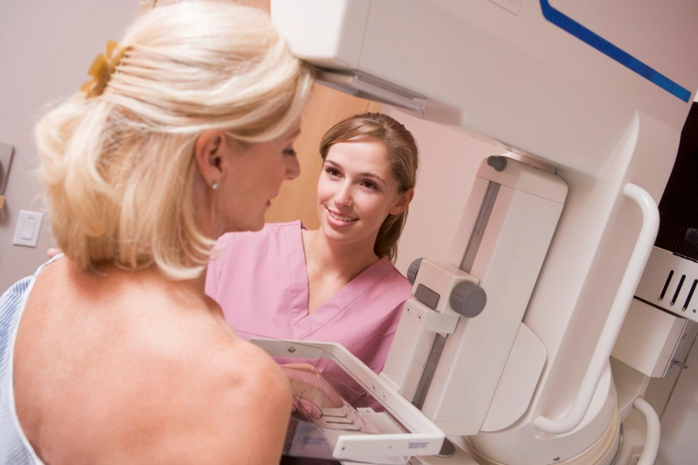 Waiving costs of cancer screenings improves mammography rates among individuals with low levels of income.