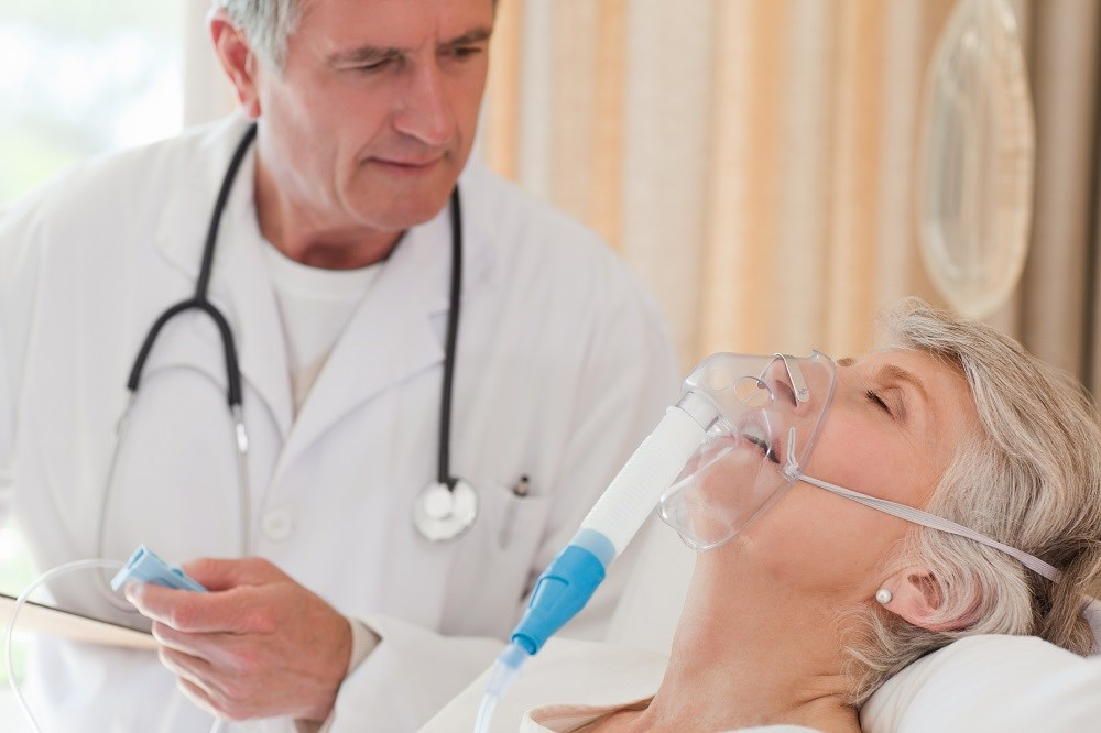 Patients who are hospitalized with a COPD exacerbation should receive oral corticosteroids rather than intravenous corticosteroids.