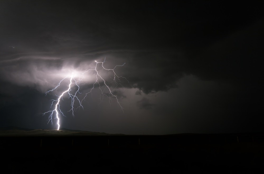 Asthma attacks can be triggered by thunderstorms when high grass pollen concentrations are dispersed by strong winds.