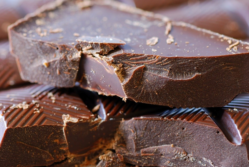 Compared with individuals reporting chocolate intake less than once per month, the rate of AF was lower for people consuming chocolate regularly.