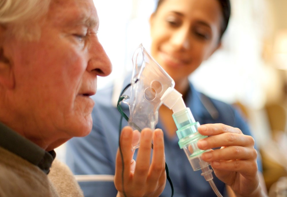 Adding home noninvasive ventilation to home oxygen therapy was effective in patients with persistent hypercapnia following an acute exacerbation of COPD.