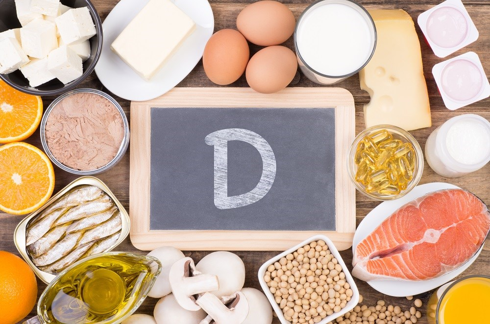A higher concentration of plasma vitamin D is correlated with a decreased risk of total cancer.